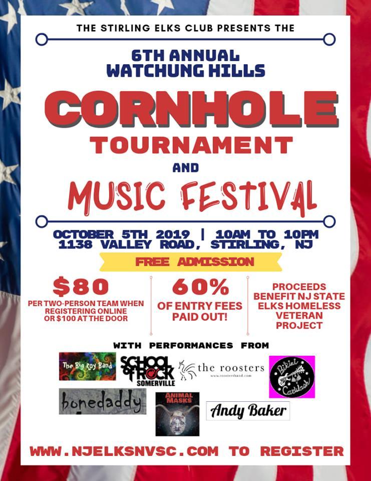 Stirling Elks Cornhole Tournament